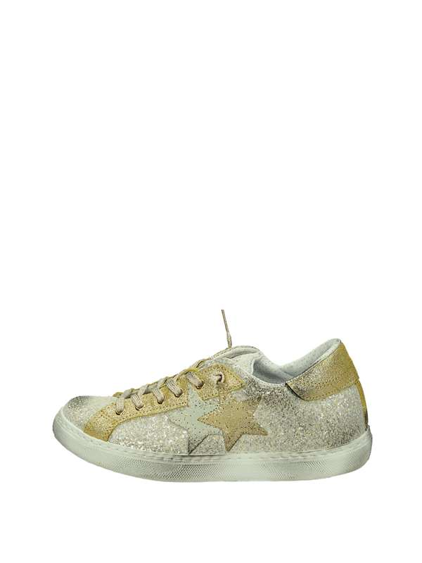 2star Sneakers Basse  Oro Argento