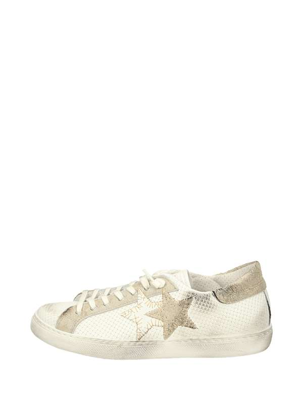 2star Sneakers Basse  Bianco Taupe