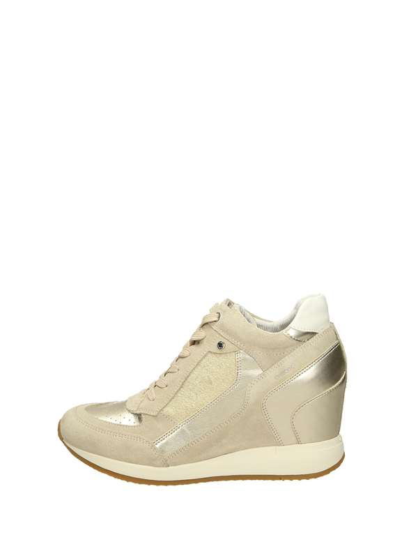 Geox Sneakers Zeppa Taupe