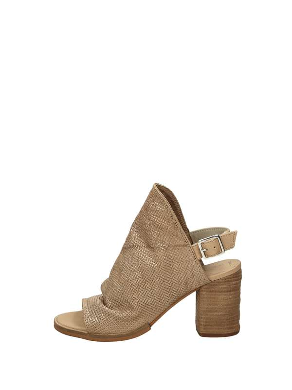 Dei Colli Sandals Heels And Plateau Taupe