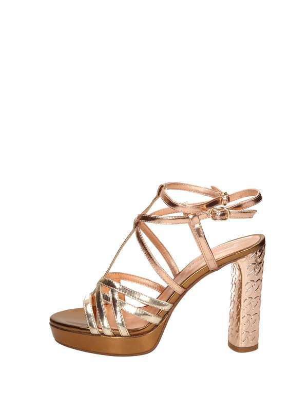 Cris Vergre Sandals Heels And Plateau Platinum