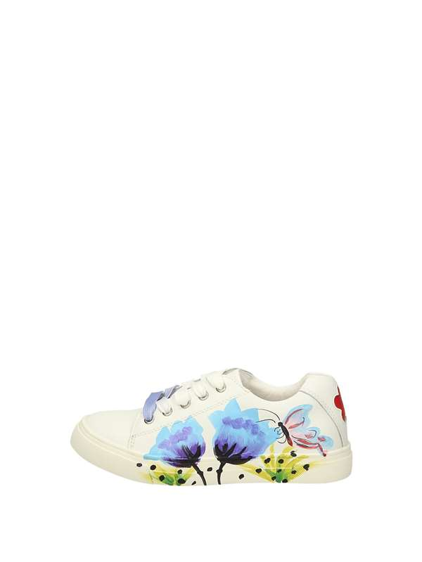 Colors Of Califonia Sneakers Basse  Bianco