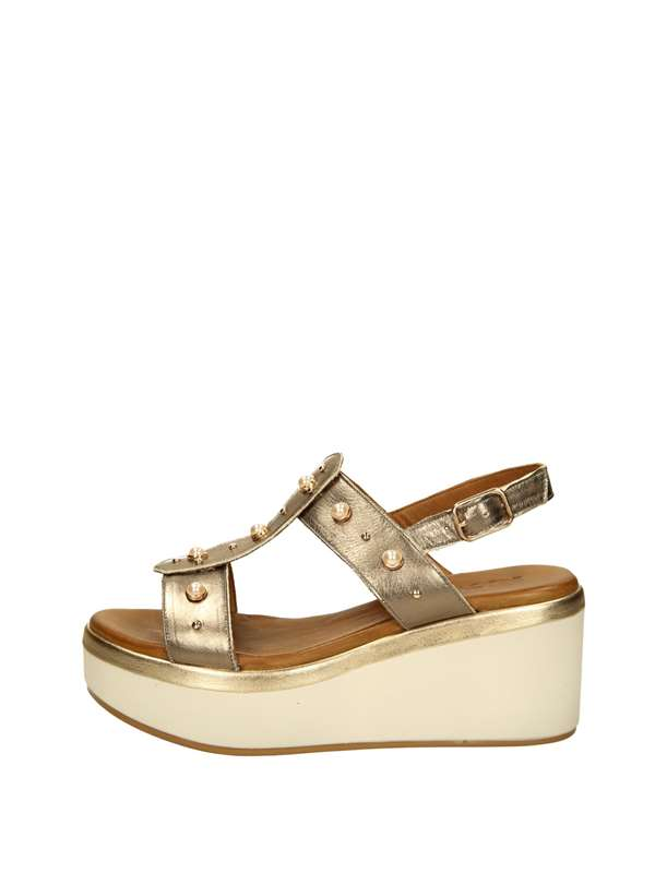 Inuovo Wedge sandal Bronze