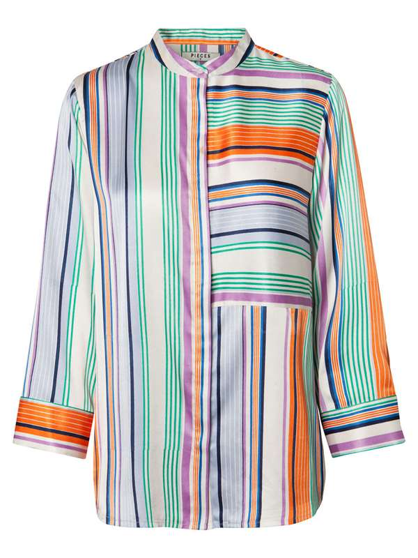 Pieces Camicia Multicolor