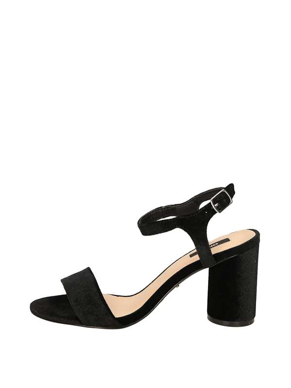 Only Sandals Heels And Plateau Black