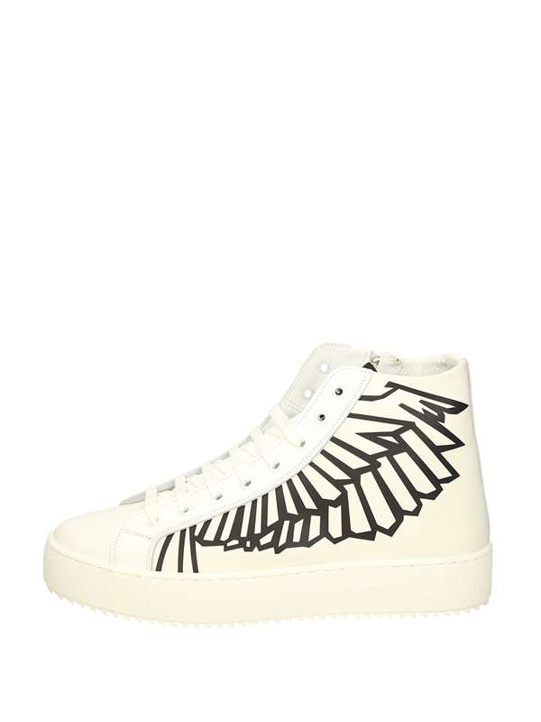 Brian Mills High Sneakers White