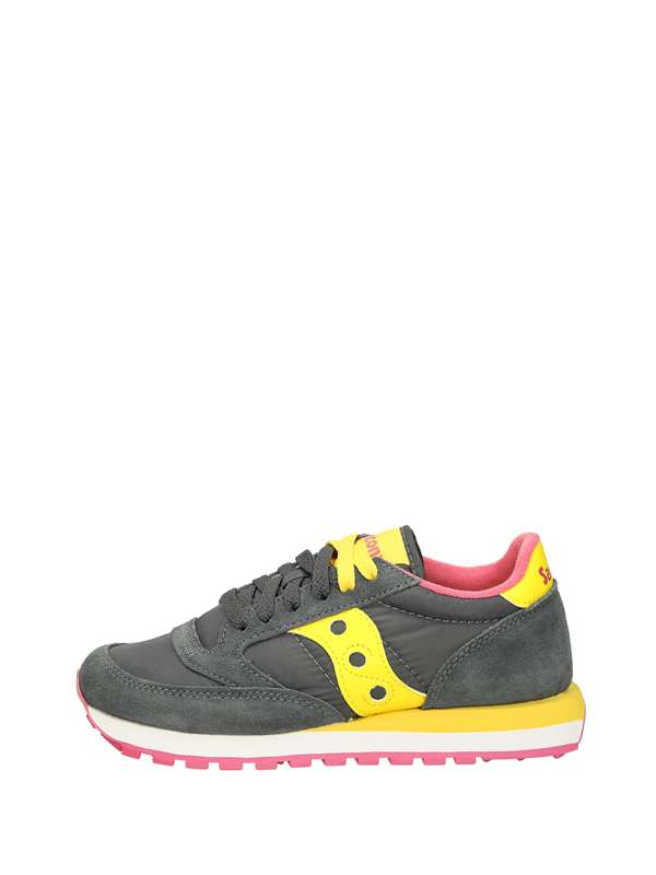 Saucony Low Sneakers Yellow Gray