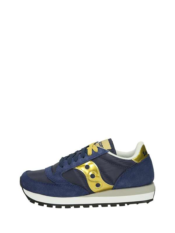 Saucony Low Sneakers Blue Gold
