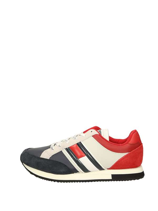 Tommy  Hilfiger Sneakers Basse  Rosso Bianco Blu