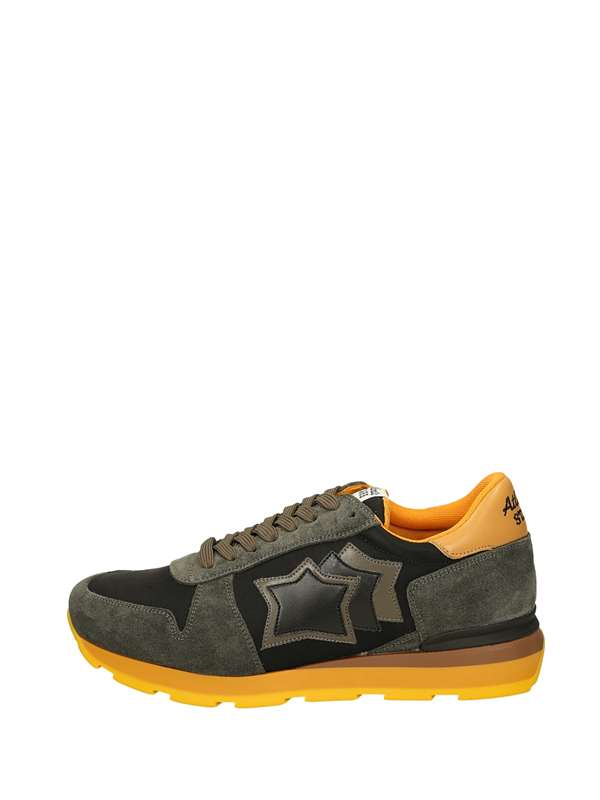 Atlantic Stars Low Sneakers Black