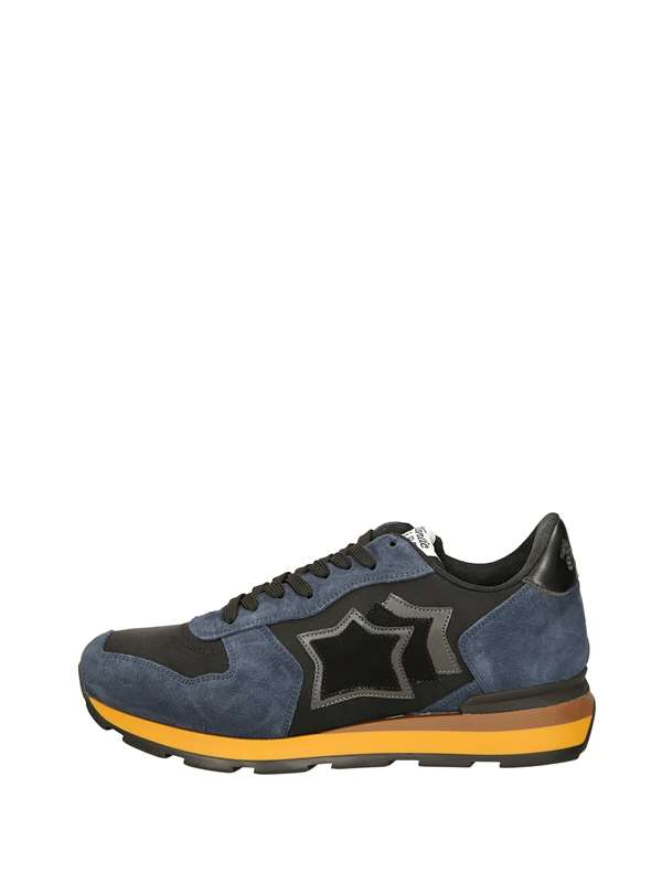 Atlantic Stars Low Sneakers Black Blue