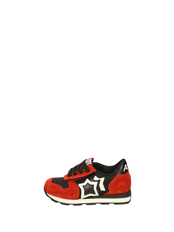 Atlantic Stars Tear sneakers Black red