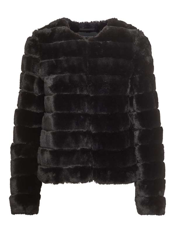 Vero Moda Fur Black