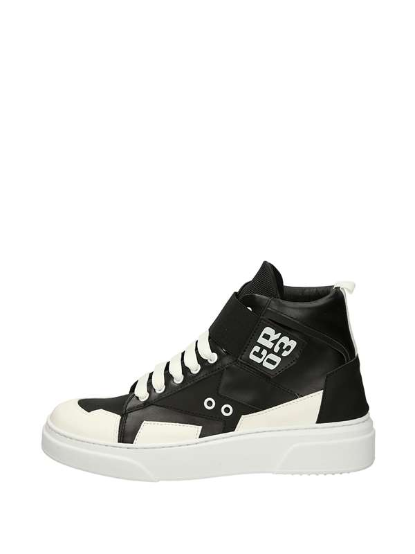 Cr03 High Sneakers White black