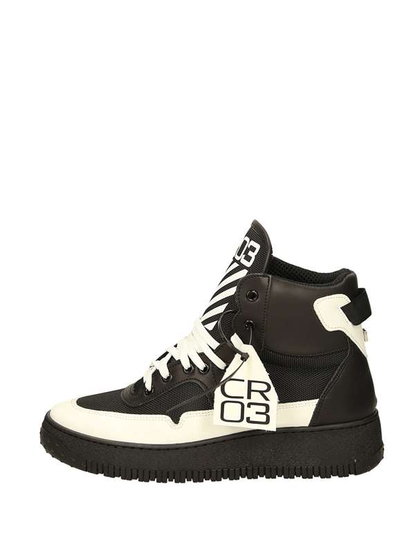 Cr03 High Sneakers Black White
