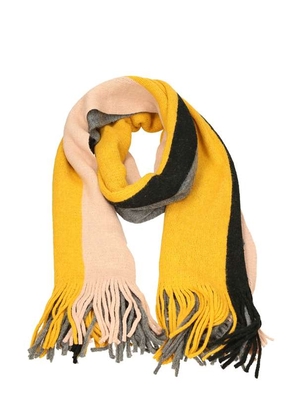 Only Scarf Yellow Gray