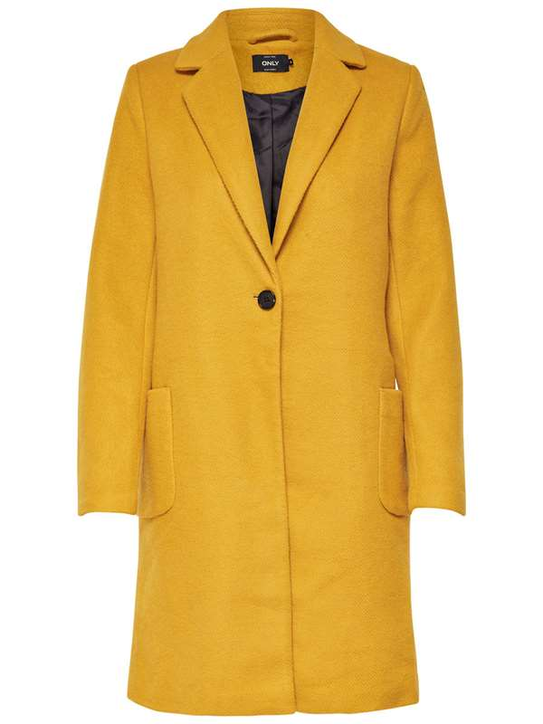 Only Coat Mustard