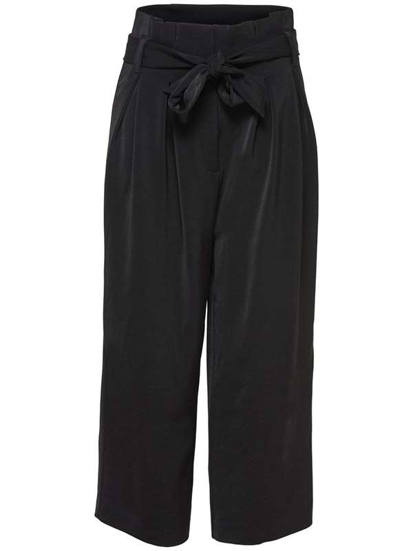 Only Trousers Black