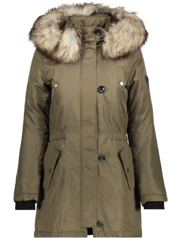 Only Parka Green