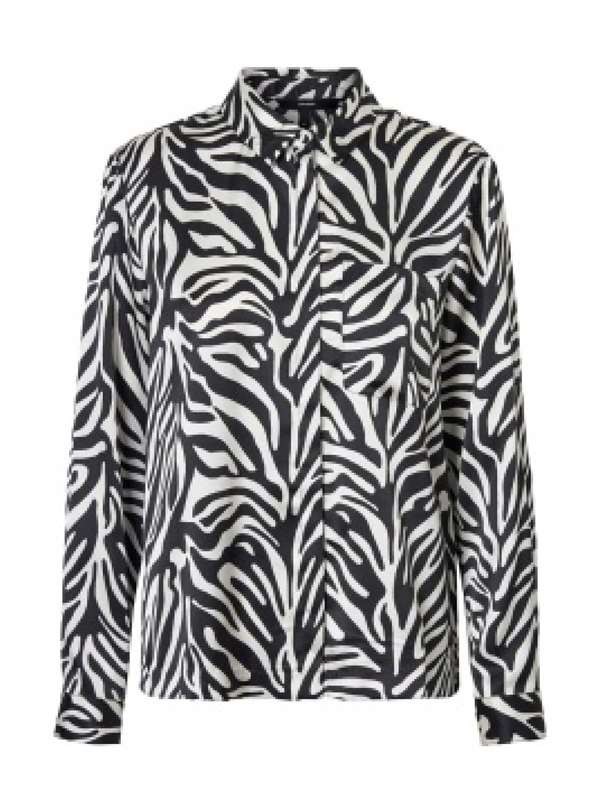 Vero Moda Blouse Black White