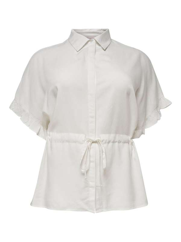 Only Carmakoma Camicia Bianco