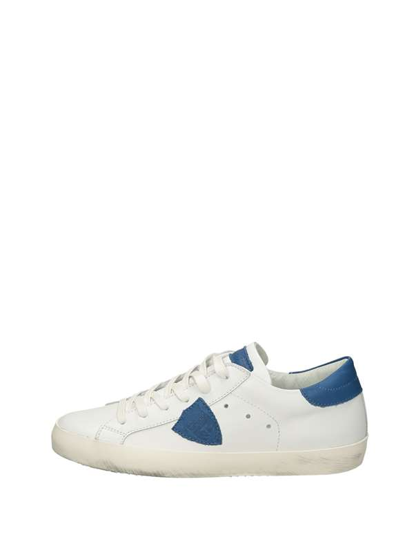 Philippe Model Sneakers Basse  Bianco Blu