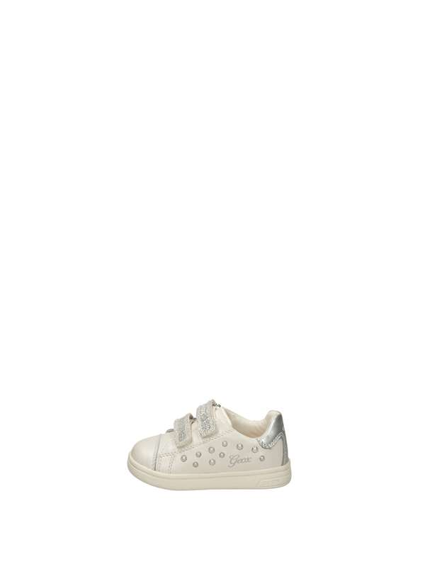 Geox Sneakers Strappo Bianco