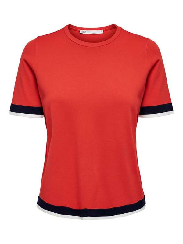 Only Maglia Rosso