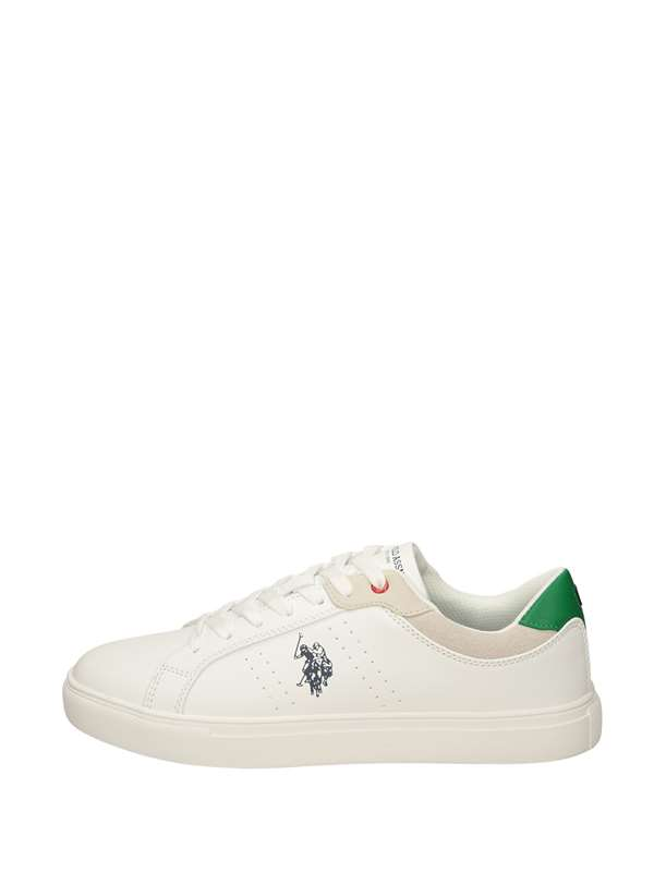 U.s. Polo Assn Sneakers Basse  Bianco