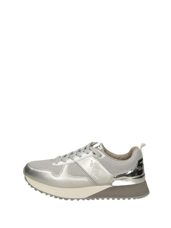 U.s. Polo Assn Sneakers Basse  Argento