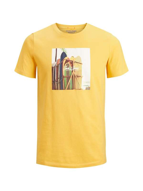 Jack&jones Originals Tshirt Giallo