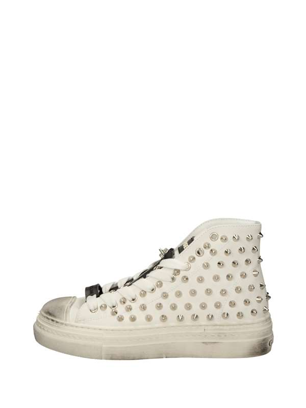 Gioselin Sneakers Alte Bianco Argento