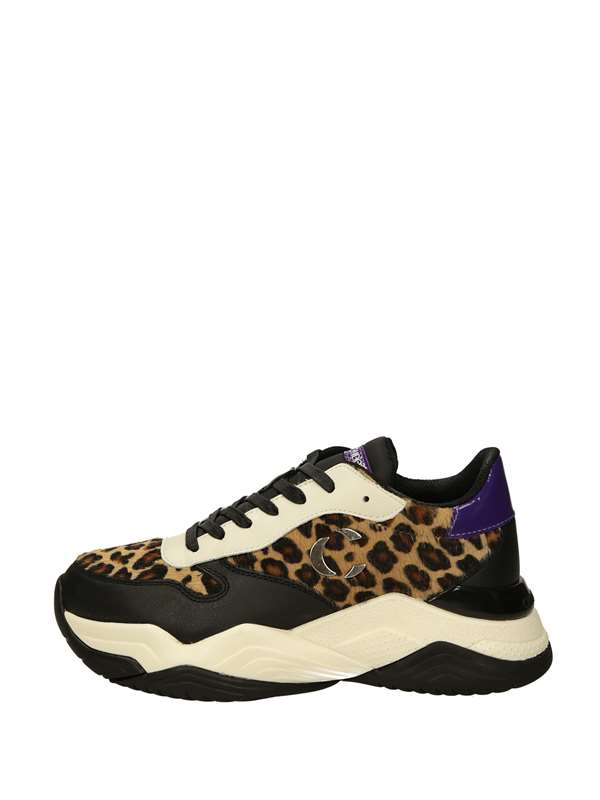 Crime London Sneakers Basse  Leopard