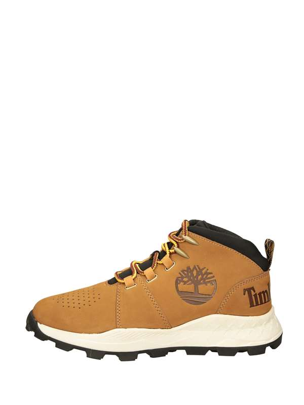 Timberland Sneakers Alta Giallo