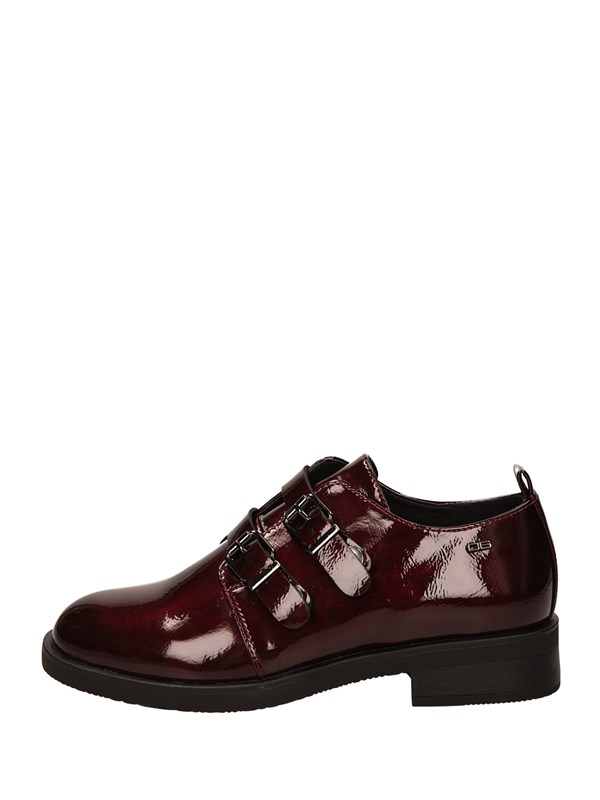 O6 Monk Strap Bordeau