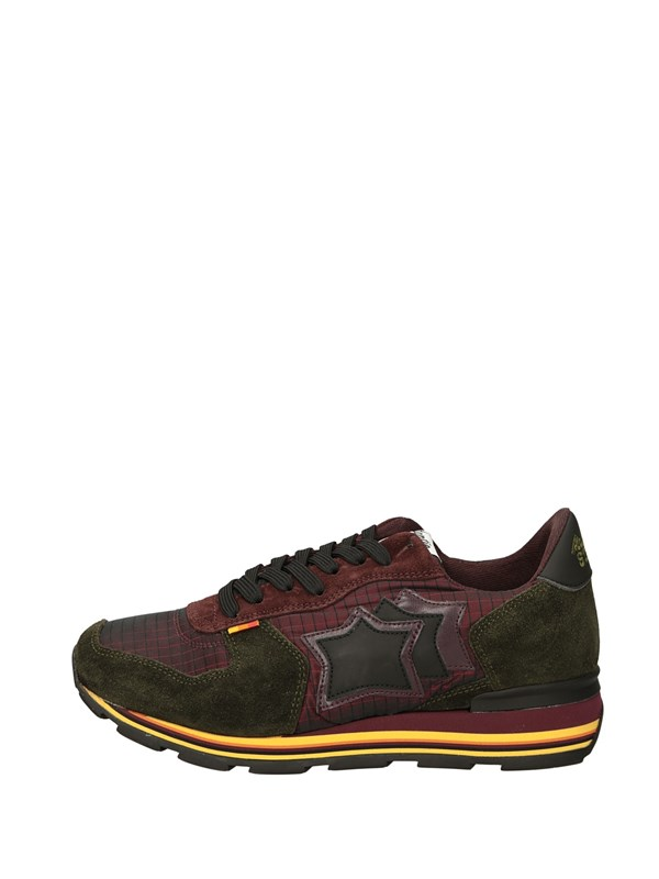 Atlantic Stars Sneakers Basse  Bordeau