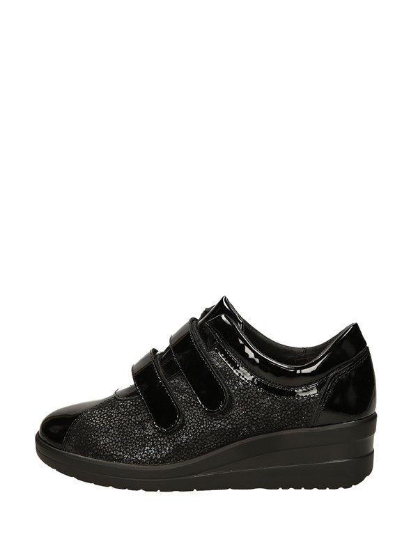 Luxury Sneakers Strappo Nero