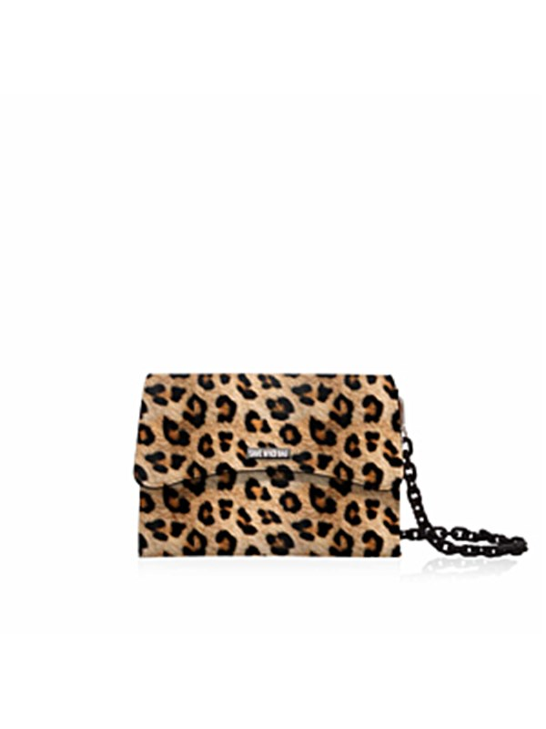 Save My Bag Tracolla Leopard