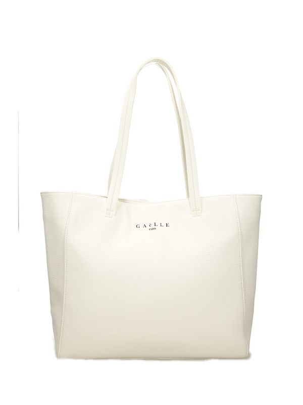 Gaelle Paris Shopper Bianco