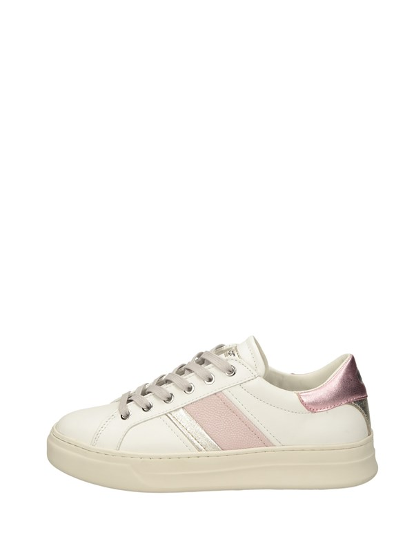 Crime London Sneakers Basse  Bianco Rosa