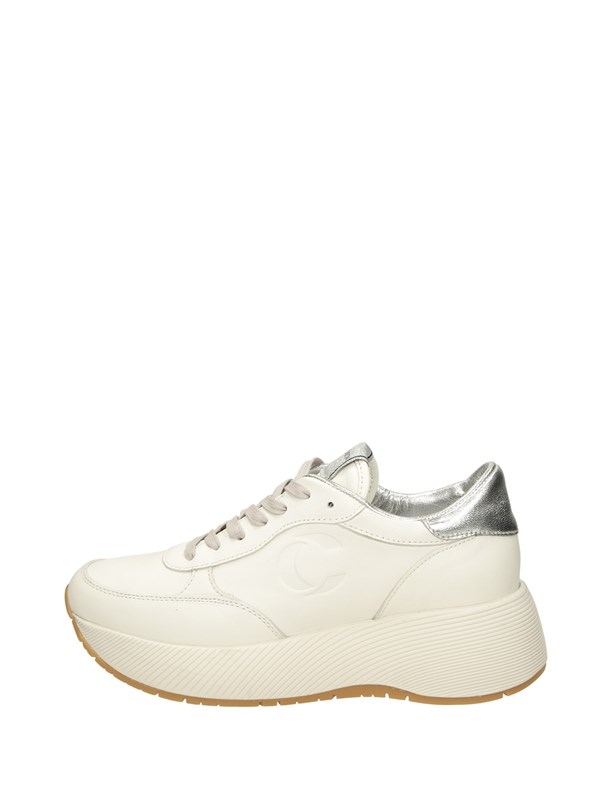 Crime London Sneakers Zeppa Bianco