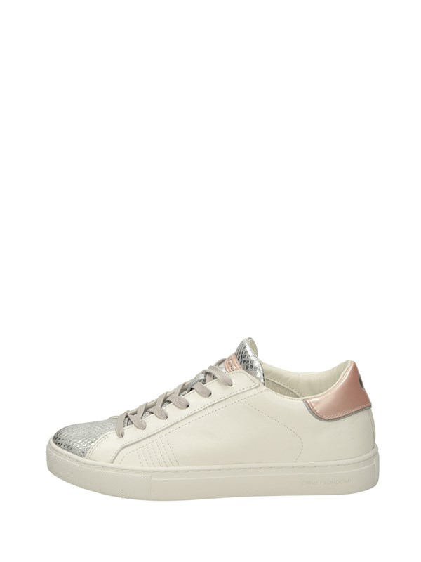 Crime London Sneakers Basse  Bianca