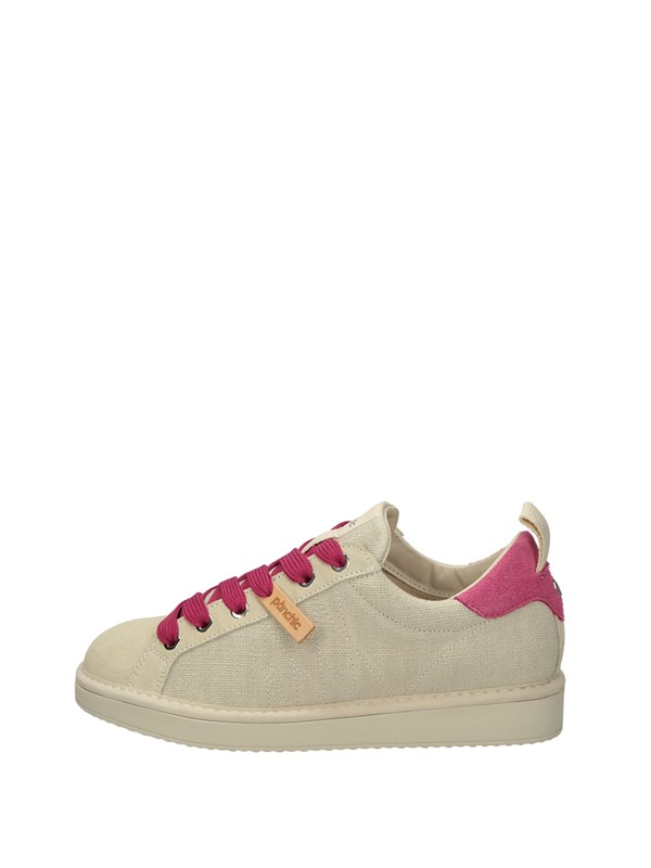 Panchic Sneakers Basse  Beige Fuxia
