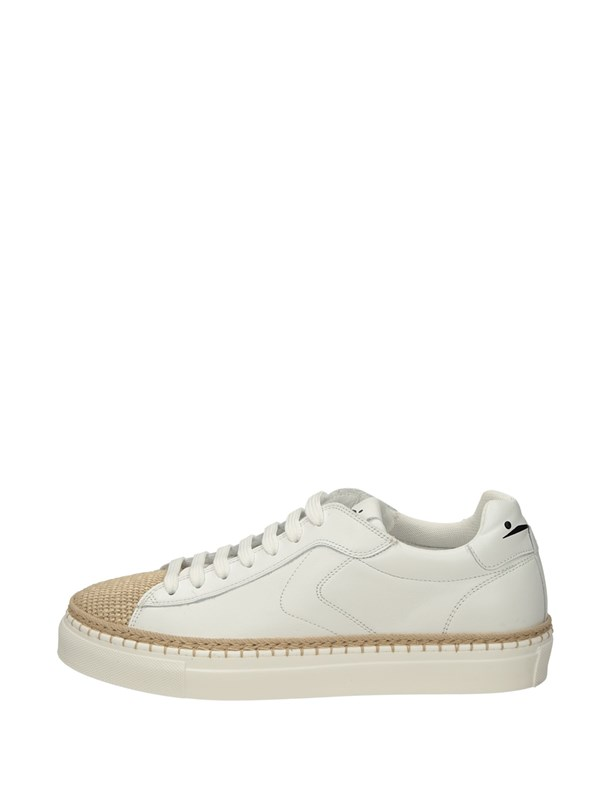 Voile Blanche Sneakers Basse  Bianco Corda
