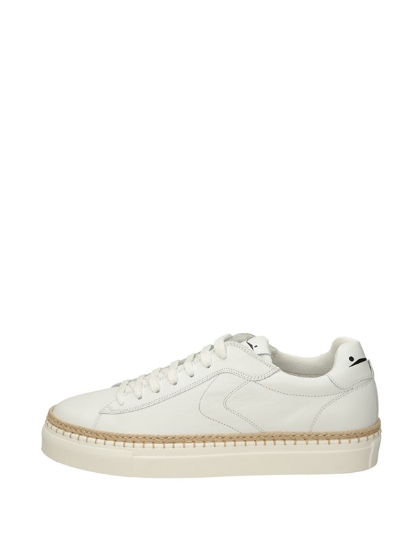 Voile Blanche Sneakers Basse  Bianco