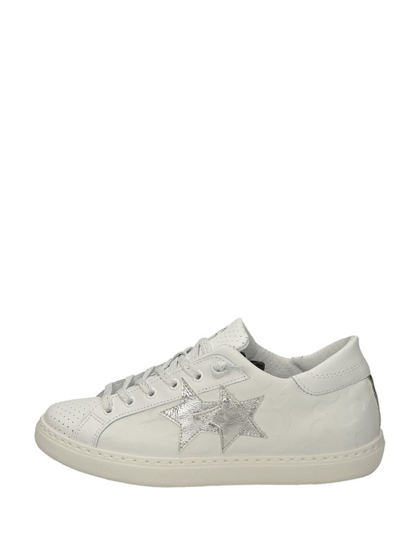 2star Sneakers Basse  Bianco Argento
