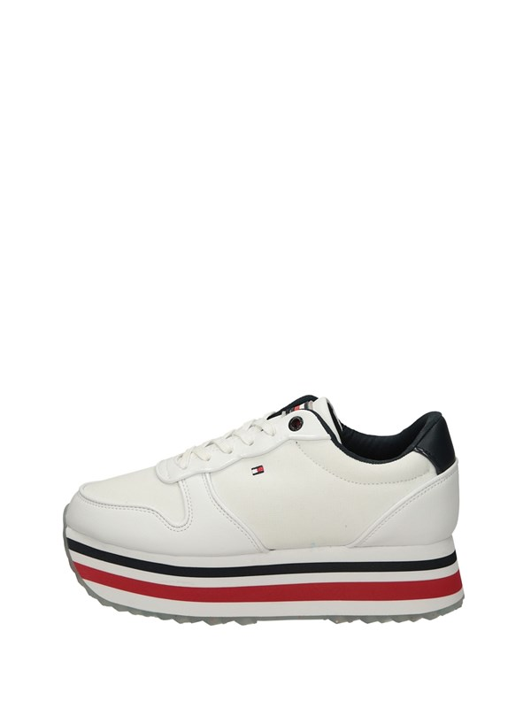 Tommy  Hilfiger Sneakers Basse  Bianco Blu Rosso