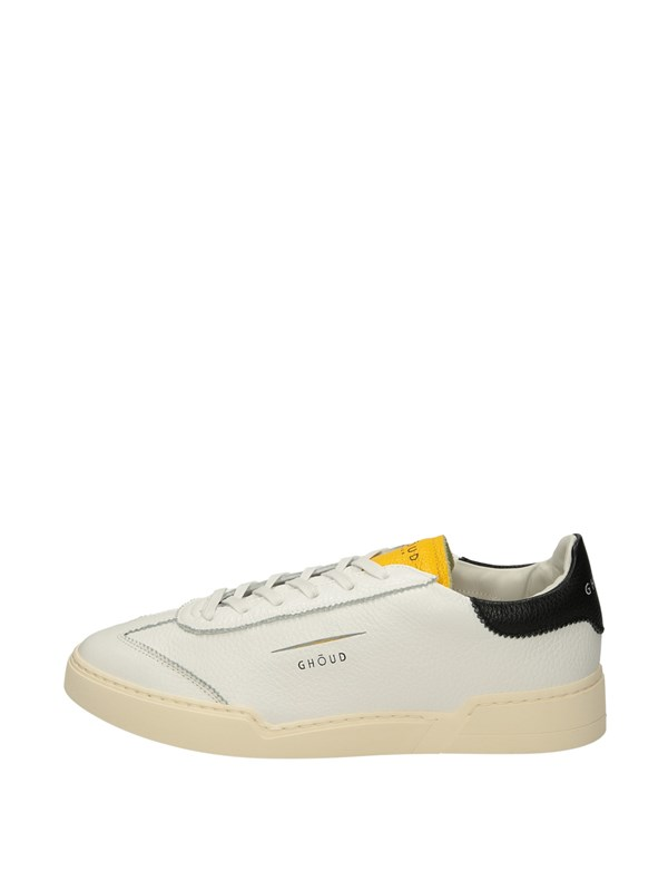 Ghoud Venice Sneakers Basse  Bianco Giallo