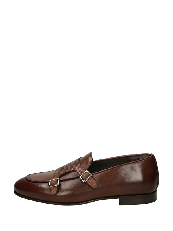 Mycloo Monk Strap Cuoio