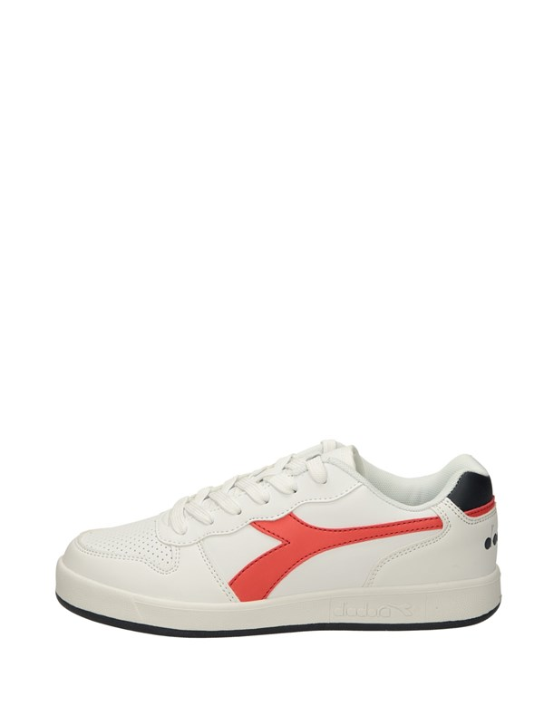 Diadora Sneakers Basse  Bianco Rosso